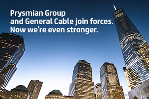 Prysmian Group and General Cable join forces.
