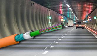 NYHET: R01 og R02 brannsikre fiberkabler til tunneler