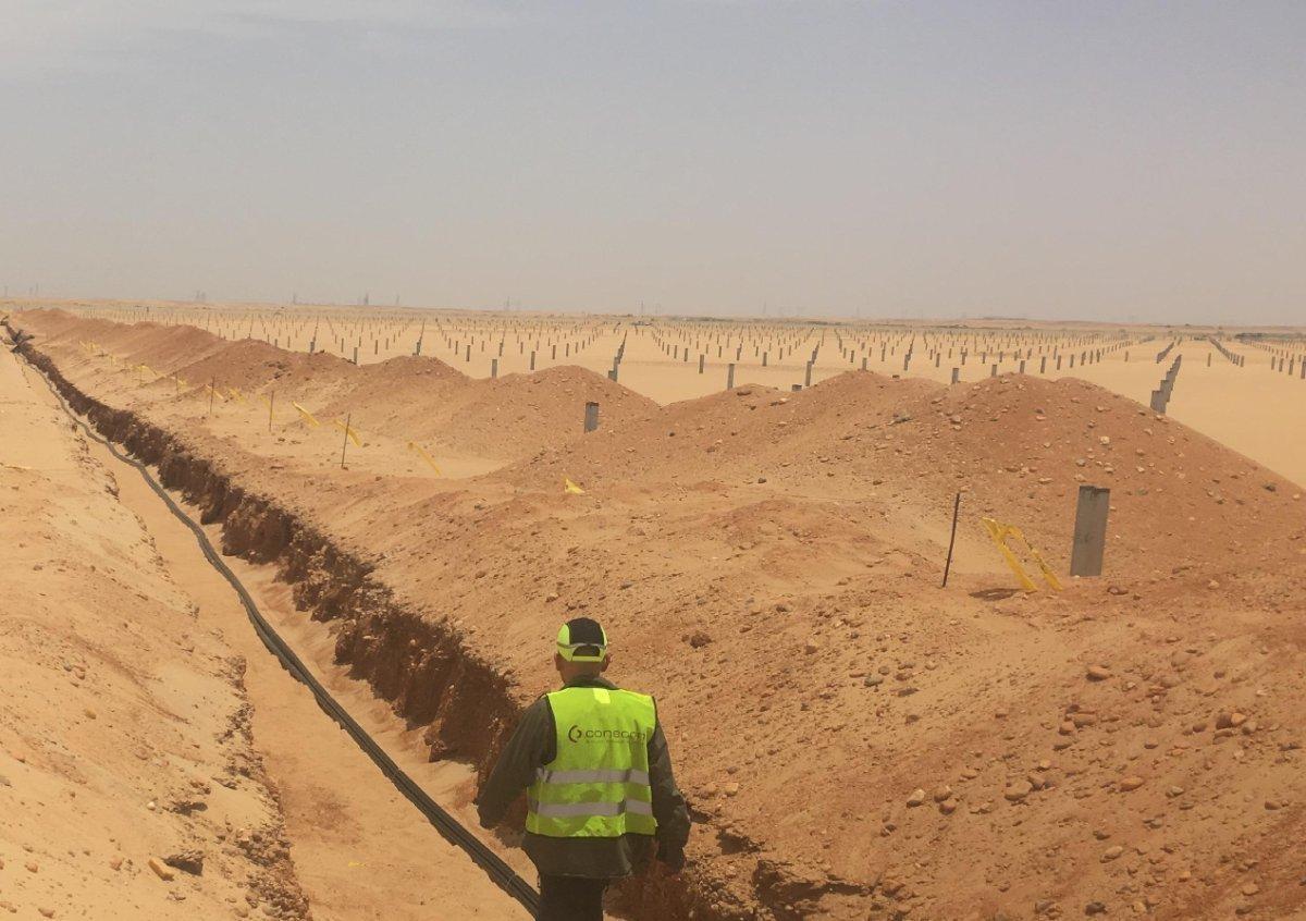 Prysmian leverer kabler til solenergianlegg i Egypt