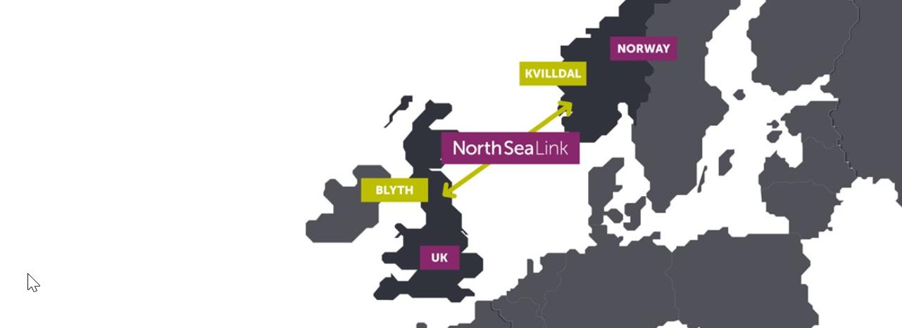 Prysmian har installeret North Sea Link under normert tid